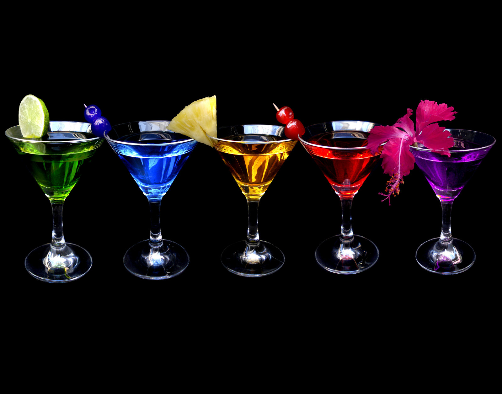 Various Types of Cocktail Equipment