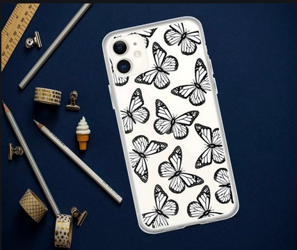 Everything Explained About Blue butterfly phone case