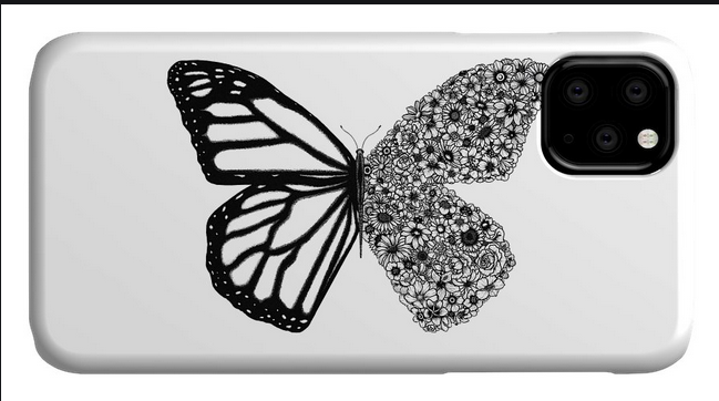 The Butterfly phone case Is In Trend