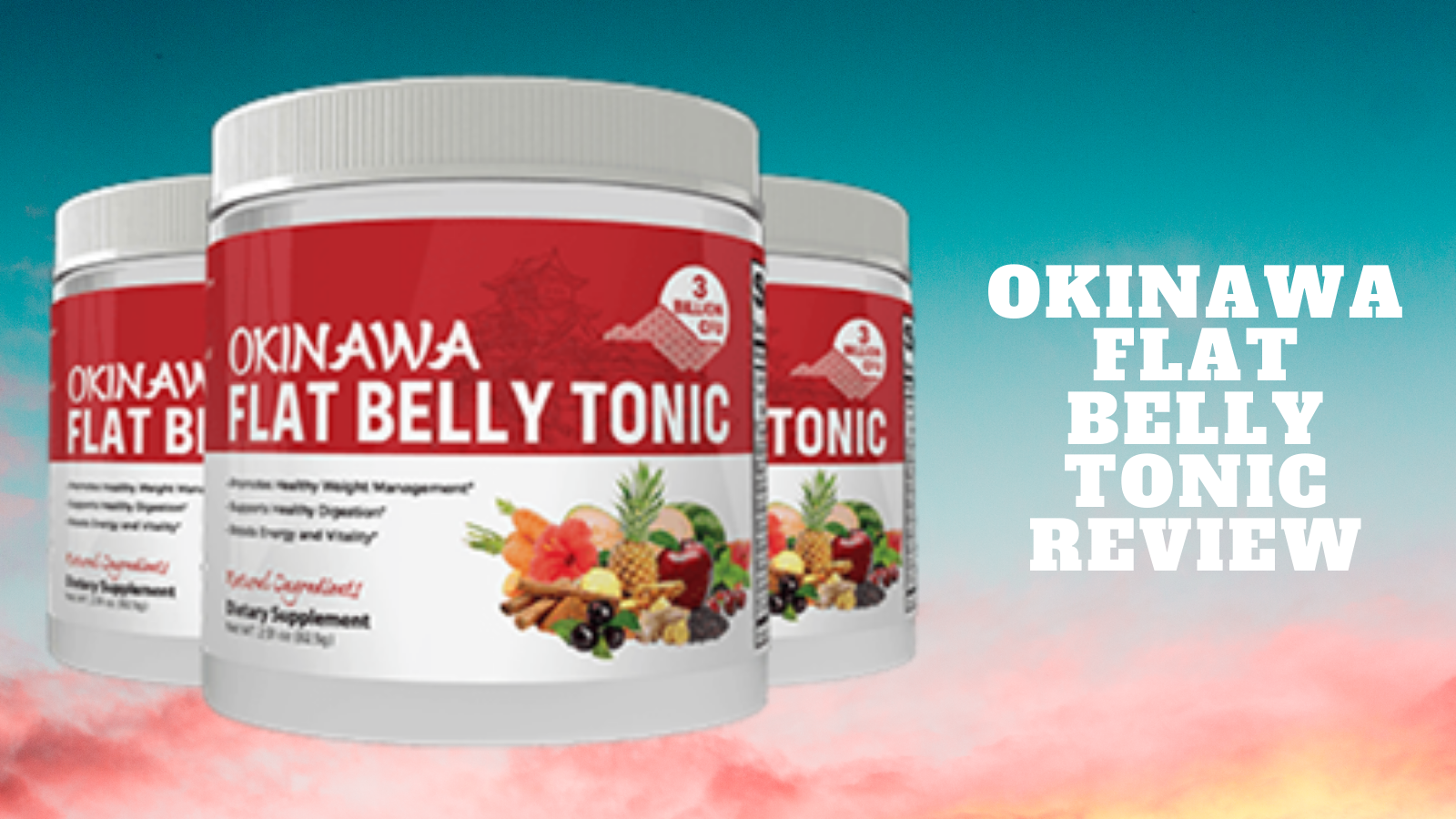 What Is Okinawa Flat Belly Tonic?